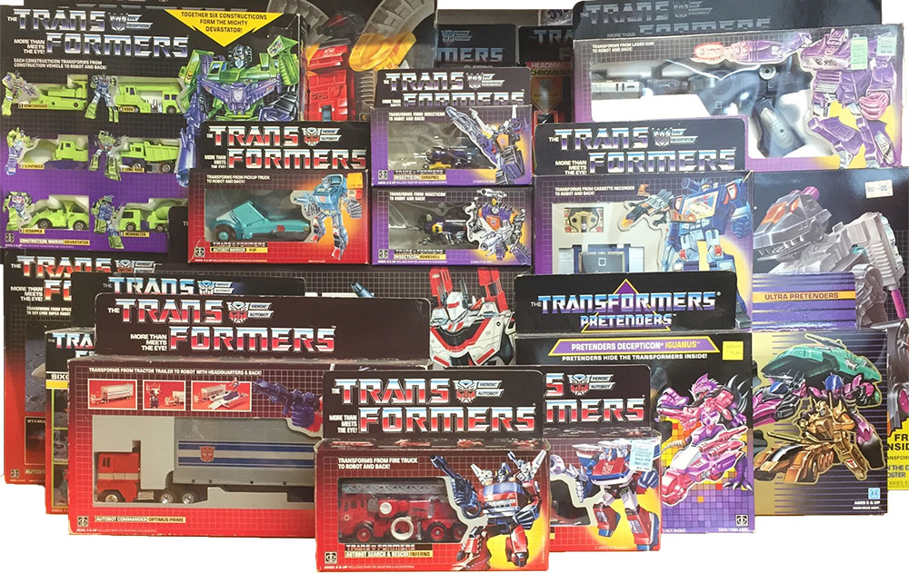 transformer toy collection box