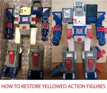 How to Restore Yellowed Action Figures