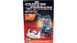 Transformers 1986 G1 Groove MOSC