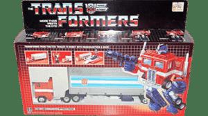 Transformers 1985 G1 Optimus Prime MISB