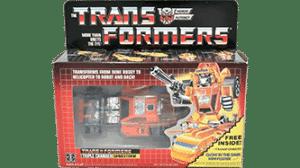 Transformers 1986 G1 Sandstorm MIB