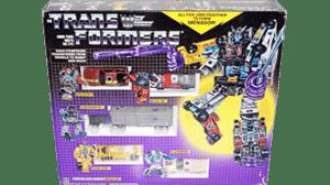 Transformers 1986 G1 Menasor MIB
