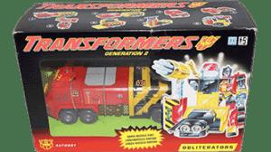 Transformers 1991 G2 Pyro MISB