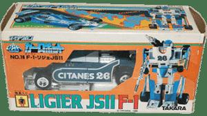 Transformers 1983 Diaclone Mirage MIB