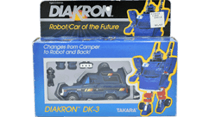 Transformers 1983 Diakron Trailbreaker MIB