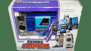 Transformers 1984 Micro Change Radi-Cassette MIB