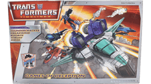 Transformers 2007 Botcon Games of Decepticon MIB