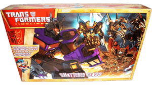 Transformers 2008 Botcon Shattered Glass MIB