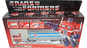 Transformers 1985 G1 Canadian Optimus Prime MIB