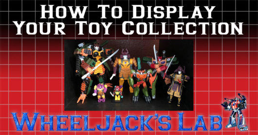 How to Display Your Toy Collection