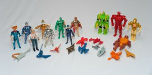 Sell Telepix Silverhawks Toy Collection
