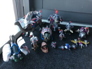 Sell Tyco Dino Riders Toy Collection
