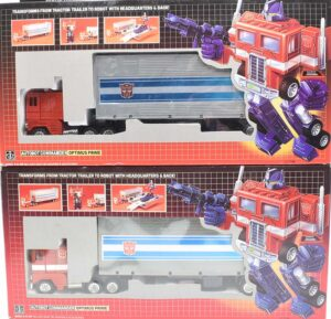 Vintage g1 Optimus Prime real versus knock off for appraisal.