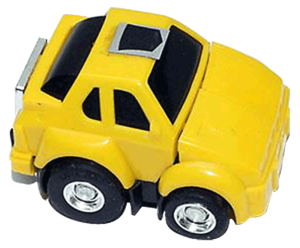 Vintage Hasbro G1 Transformers Hubcap Toy
