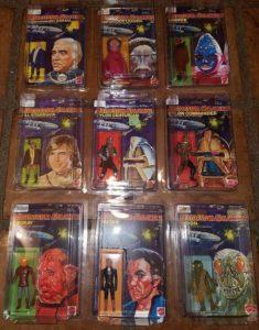 Battlestar Galactica Mattel 1978 Actions Figures