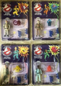 Ghostbusters Kenner 1986 Actions Figures