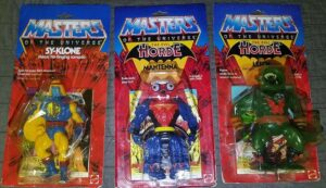 MOTU He-Man Mattel 1982 Actions Figures