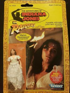 Raiders of The Lost Ark Kenner 1982 Actions Figure
