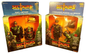 Sectaurs Coleco 1984 Actions Figures