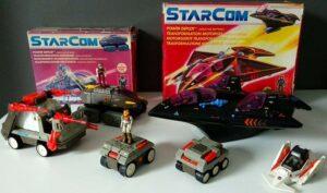 StarCom Coleco 1986 Actions Figures