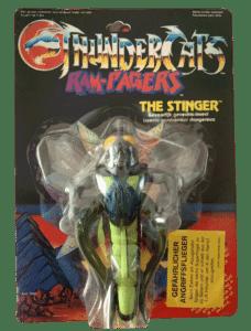Thundercats Stinger LJN 1985 Actions Figure