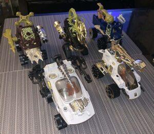 Wheeled Warriors Mattel 1984 Actions Figures