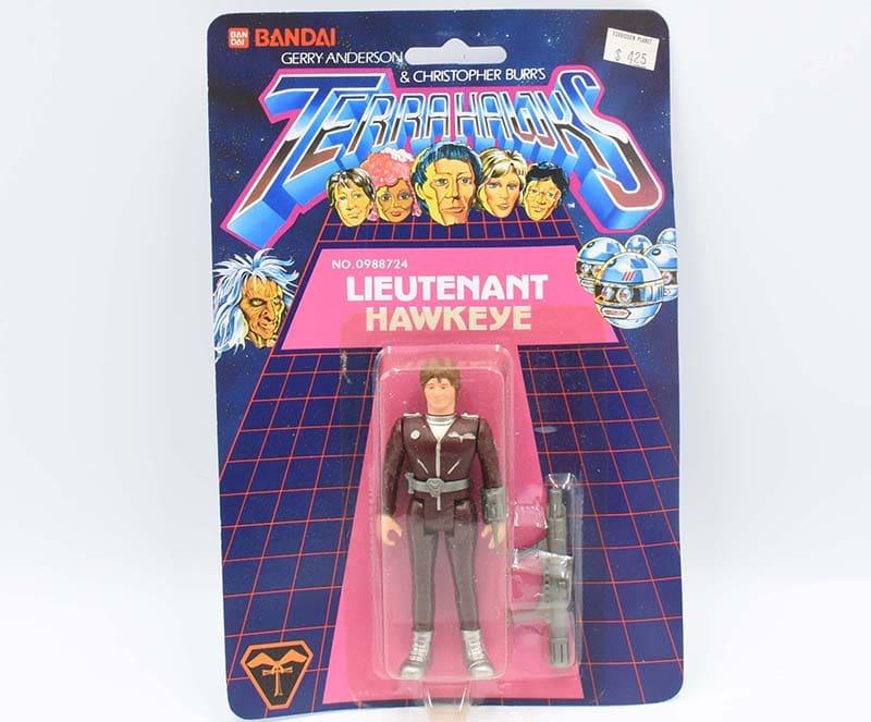 Lieutenant Hawkeye MOSC Terrahawks