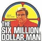 Six Million Dollar Man Mego Action Figure 1975