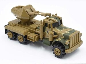 Sem-Truck With Anti-Aircraft Gun Rough Riders Stompers
