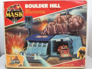 Kenner Mask Playsets, Vehicles and Action Figures
