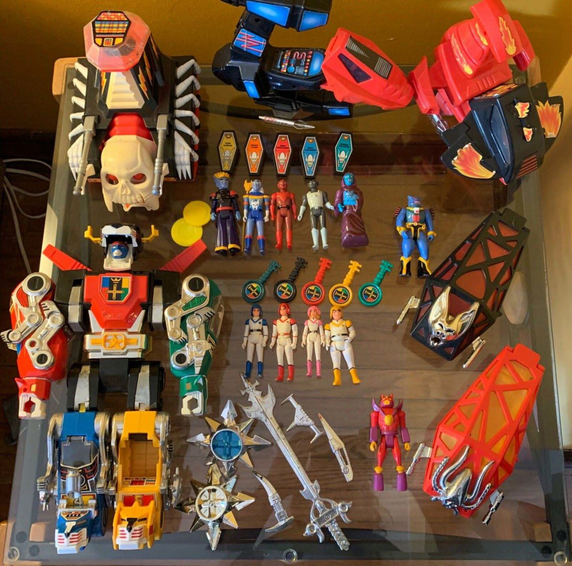 Voltron Vehicles and Figures