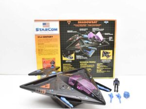 Starcom Vehicles and Action Figures