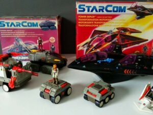 Starcom Action Figure Collection