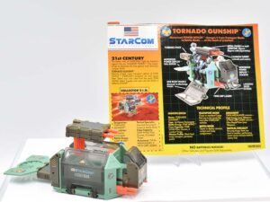 Starcom vehicles and ships
