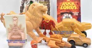 Vintage Action Figure Prototype Toys