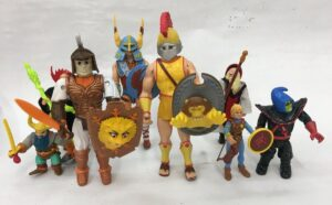 Advanced Dungeons & Dragons LJN Action Figures
