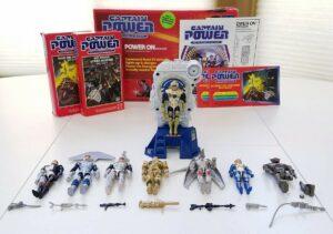Captain Power Mattel Action Figures