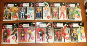 Chuck Norris & Karate Kommandos Kenner Action Figures