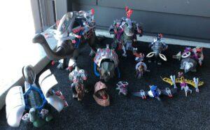 Dino Riders Tyco Action Figures