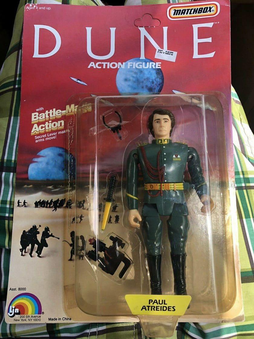 Dune LJN Action Figures