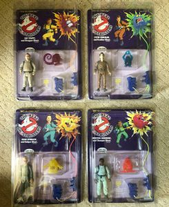 Ghostbusters Kenner Action Figures
