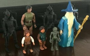 Knickerbocker Lord of the Rings Action Figures