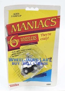 Maniacs prototype package sample