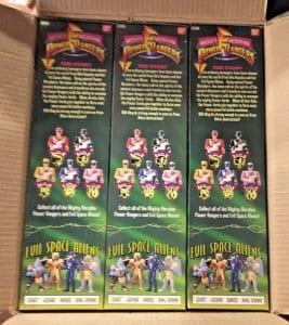 Power Rangers Bandai Action Figures
