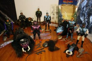 Sectaurs Coleco Action Figures
