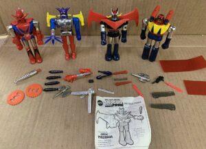 Shogun Warriors Mattel Action Figures