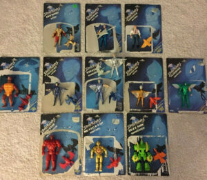 Kenner Silverhawks Collection