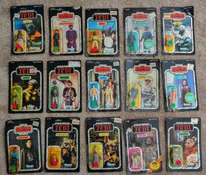 Star Wars Vintage Sealed Action Figures