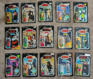 Star Wars Kenner Vintage Action Figures
