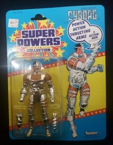 Super Powers Cyborg Action Figure